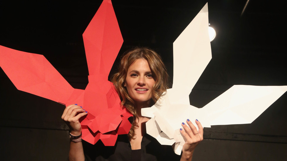 Stana Katic in New York City for 'White Rabbit Red Rabbit - Photographed by Bruce Glikas / FilmMagic